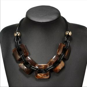 ❤️ Leather Cord Choker Necklace 100000250